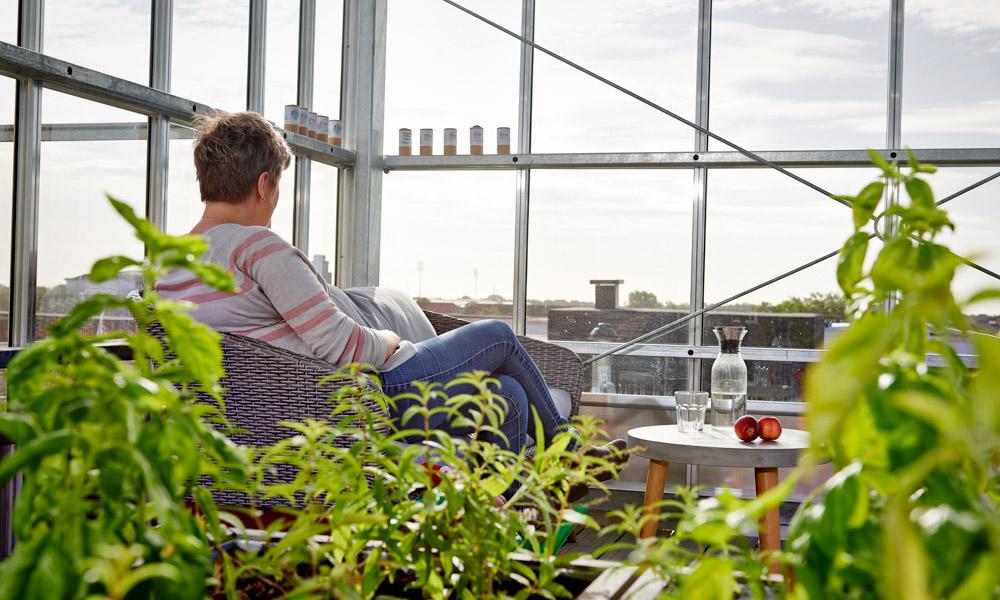 groenne byliv - urban gardening - udsigt