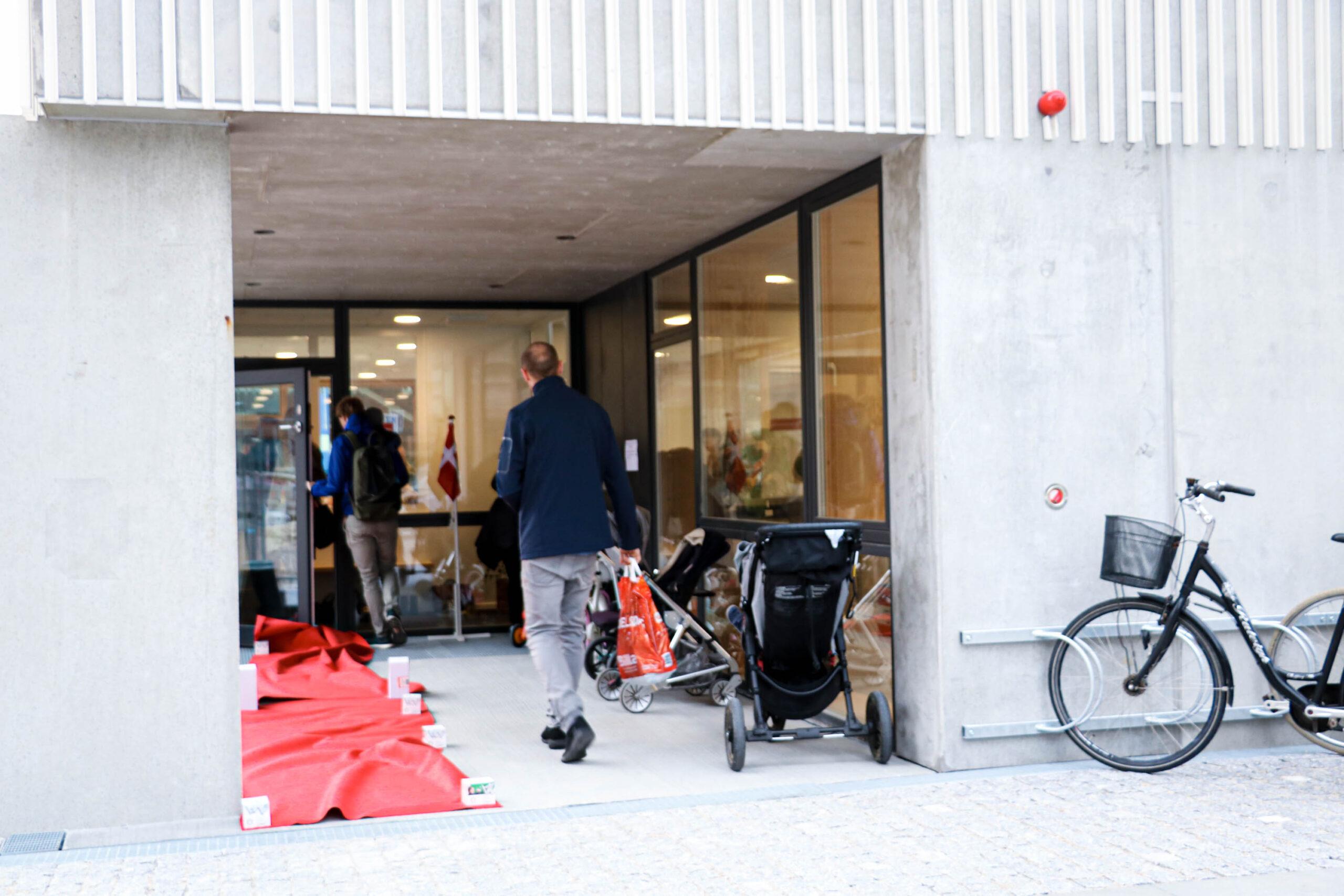 Åbning af Æblekassen - den 16. september 2019